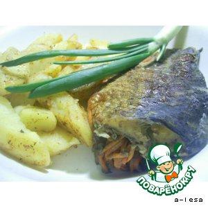 Рецепт Рыба с гарниром