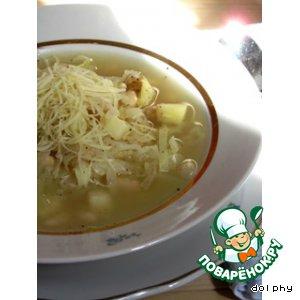 Рецепт Крестьянский капустный суп