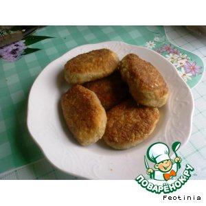 Рецепт Картофельно-овсяные котлеты с соевым мясом