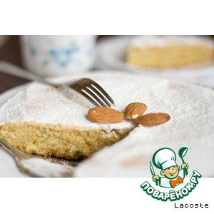 Рецепт Миндально-кукурузный кекс