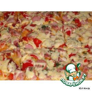 Рецепт Пицца из творога