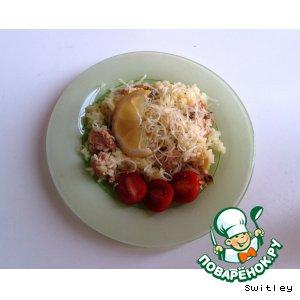 Рецепт Рис с рыбкой и солеными лимонами