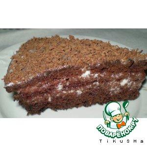 Шоколадный тортик пошаговый рецепт с фотографиями как готовить