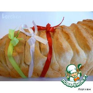 "Итальянский хлеб ""Pane al latte ""Fisarmonica"""""