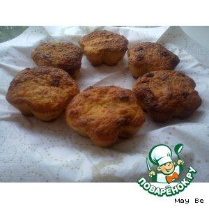 Рецепт Тыквенные кексики