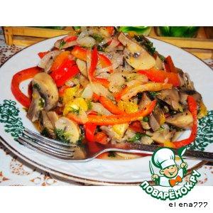 рецепт салат афина