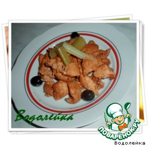 Рецепт Куриное филе в соевом соусе