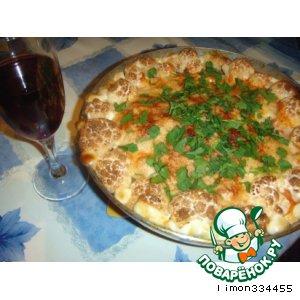 Рецепт Куриная запеканка с цветной капустой и вином