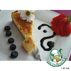 Рецепт Сырный тарт