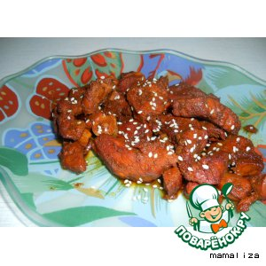 Рецепт Курица в карамели