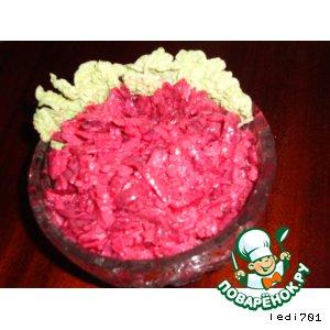 Рецепт Салат из свеклы с яблоком и сыром