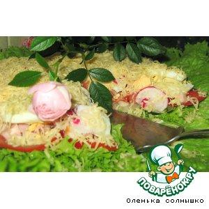 Рецепт Салатный торт