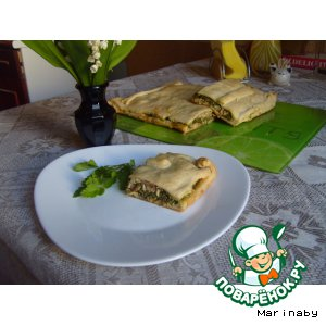 Рецепт Пирог с горбушей