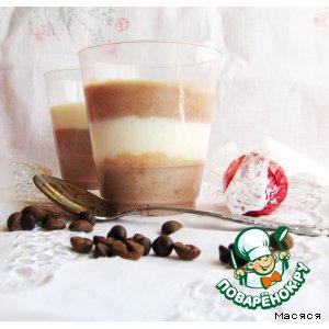 """Рецепт Легкий десерт """"Сливочный персик в шоколаде"""""""