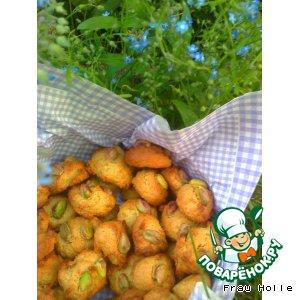 Рецепт Марципановое печенье с фисташками