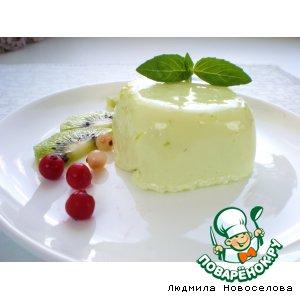 Воздушный сметанный десерт