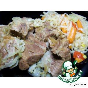 Рецепт Тушеная свинина по рецепту Су Ши