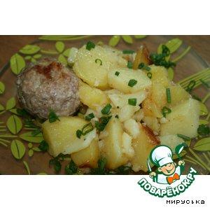 Рецепт Котлеты с картошечкой в мультиварке