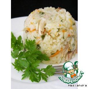 Рецепт Рис с курицей в мультиварке