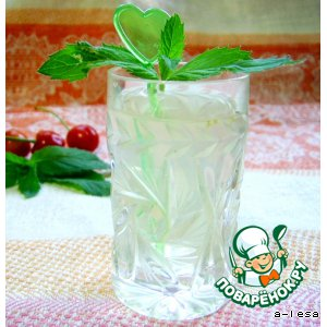 """Рецепт Мятный напиток """"Mint freshness"""""""