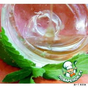 """Рецепт Мятный сироп """"Mint syrup"""""""