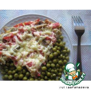 Рецепт Запеканка на сковороде
