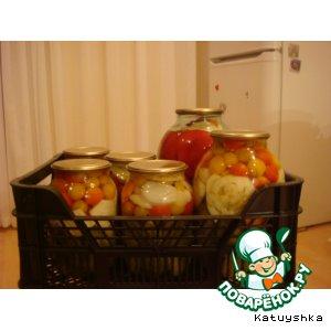 Готовим Ассорти овощное домашний рецепт с фотографиями