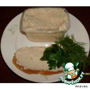 Рецепт Паштет куриный с сыром