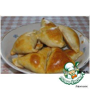 Рецепт Слоеная самса с картофелем