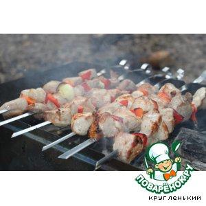 Шашлык из свинины пошаговый рецепт с фотографиями как приготовить