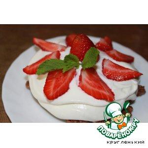 Рецепт Клубничное пирожное