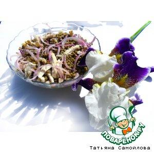 Рецепт Теплый салат с чечевицей