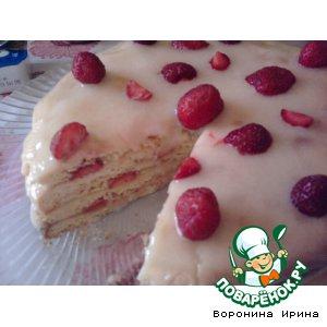 Рецепт Клубничный тортик