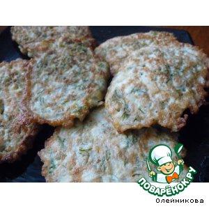 Рецепт Оладушки из цветной капусты