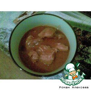 Рецепт Свинина, тушенная с фасолью