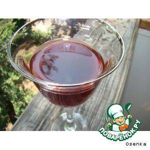 Рецепт Вишнeвая (ягодная) наливка без добавления спирта, слабоалкогольная