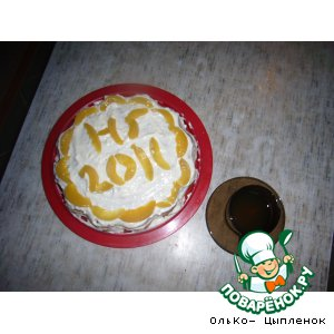 Рецепт Волшебный тортик