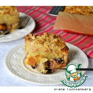 Рецепт Бакл (Buckle) - американский летний фруктовый пирог