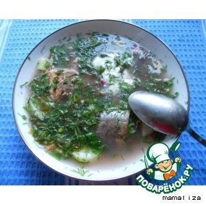 Рецепт Ботвинья с рыбой