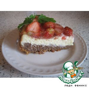 Рецепт Творожно-шоколадный торт-пирог