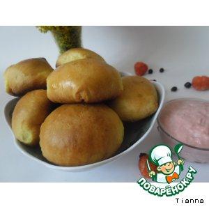Рецепт Булочки с ягодной начинкой