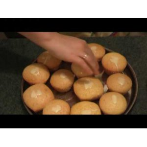 Готовим Апельсиновые кексы вкусный рецепт приготовления с фотографиями