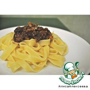 Фетучини с соусом из трески домашний пошаговый рецепт с фотографиями как готовить