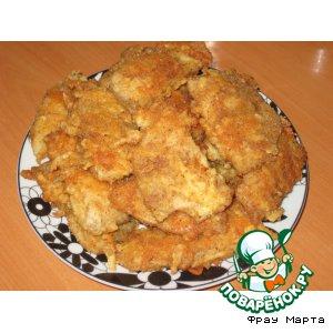 Рецепт Рыба в сырной корочке