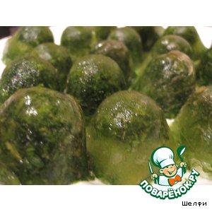 Рецепт Заморозка зелени