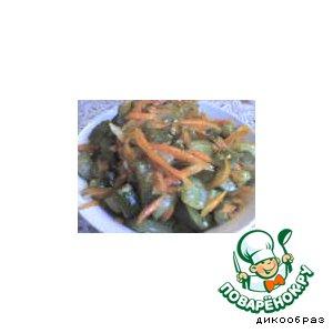 Рецепт Огурцы по-корейски