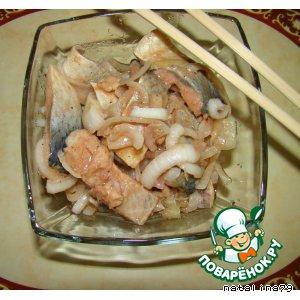 Рецепт Сельдь, маринованная по-корейски