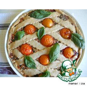 Рецепт Ржаной пирог из свекольной ботвы