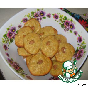 Рецепт Банановые печеньки
