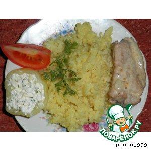 Рецепт Свиные ребрышки в сметанно-горчичном соусе